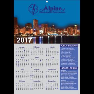 Wall Calendar Range